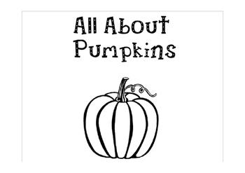 All About Pumpkin Lapbook