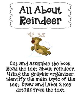 All About Reindeer-Main Topic and Key Details