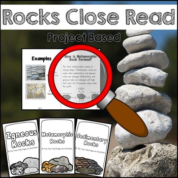 Rocks: Close Reading, Writing, and Science Pack