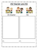 All About School Writing Booklet