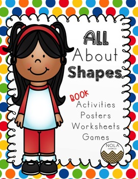 All About Shapes Activity Book