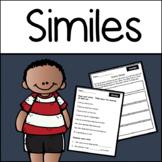 Similes: Identifying and Writing Figurative Language