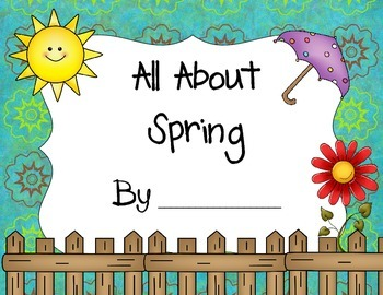 Seasons All About Spring Book