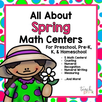 All About Spring Math Centers