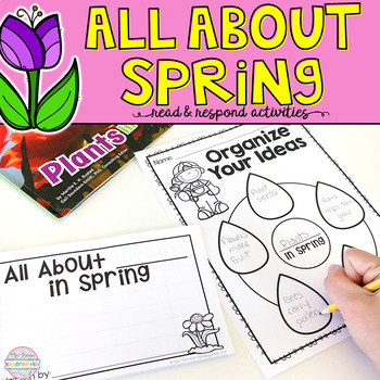 All About Spring: Read & Respond FREEBIE