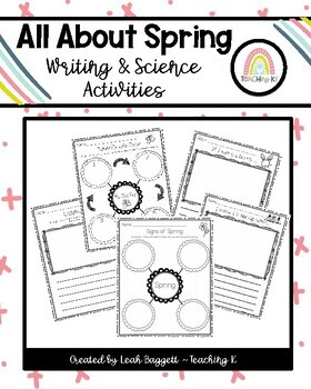 All About Spring Science & Writing: Butterfly, Ladybug, Si