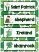 All About St. Patrick Minilesson for Preschool, PreK, K, &