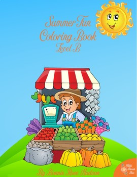 All About Summer Coloring Book