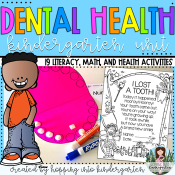 All About Teeth - Kindergarten Dental Health Unit