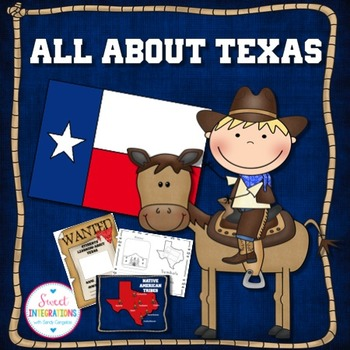 TEXAS STATE Editable PowerPoint With Facts and Symbols Activities