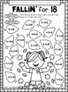 All About The Number Eighteen ~ No Prep Math Printables fo