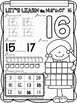 All About The Number Sixteen ~ No Prep Math Printables for