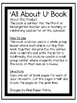 All About U | Alphabet Recognition Book