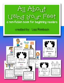 All About Using Your Feet a non fiction book for beginning