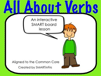 All About Verbs SMARTboard Lesson