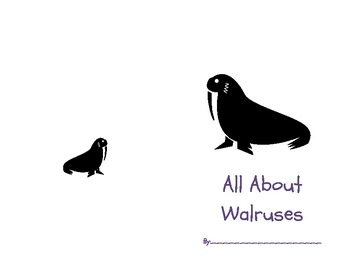 All About Walruses Student Book