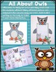 All About Woodland Animals-OWLS!!! (crafts, writing activi
