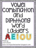 All About Word Ladders! Long Vowel Combinations and Diphthongs