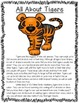 All About Zoo Animals-Bundled! (informative text, crafts,