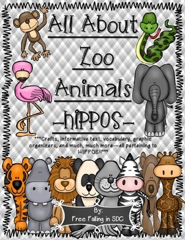 All About Zoo Animals-HIPPOS! (crafts, informative text, v
