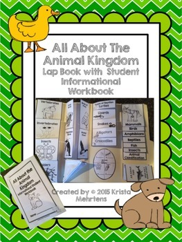All About the Animal Kingdom Lapbook with Informational St