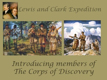 All About the Lewis & Clark Expedition Members {Corps of D