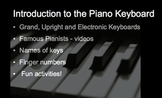 Music: All About the Piano Keyboard for SMARTboard - revised 2015