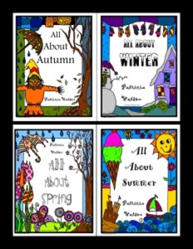All About the Seasons Worksheet Bundle