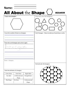 All About the Shape Hexagon