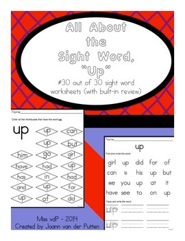 All About the Sight Word UP