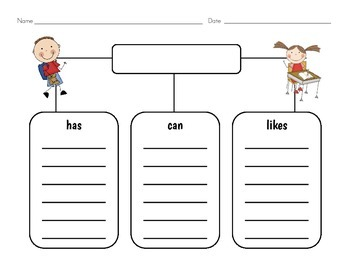 All About___!  A Graphic Organizer