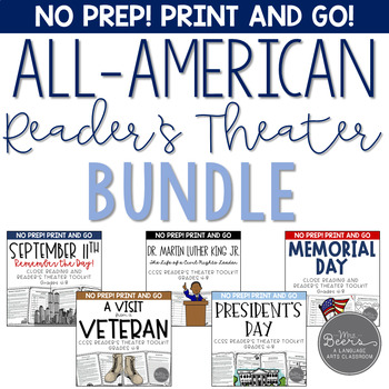 All-American Reader's Theater BUNDLE for Grades 4-8