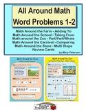 All Around Math Word Problems 1-2