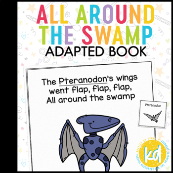 All Around the Swamp: Adapted Book for students with Autism