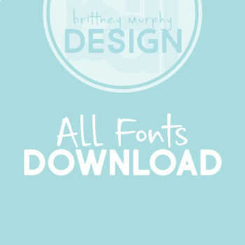 All Brittney Murphy Fonts Download- Free for Personal Use