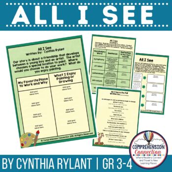 All I See by Cynthia Rylant