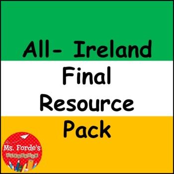 All-Ireland Final Resource Pack freebie