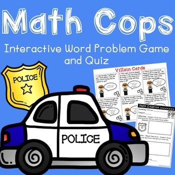 Word Problem Game {All Operations}