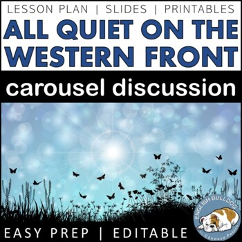All Quiet on the Western Front Pre-reading Carousel Discussion