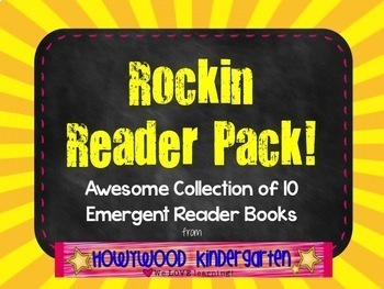 All Ready to Read! 10 Awesome Emergent Reader Books -great