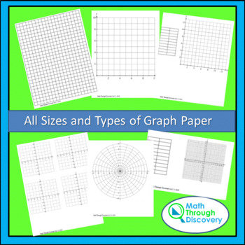 All Sizes and Types of Graph Paper