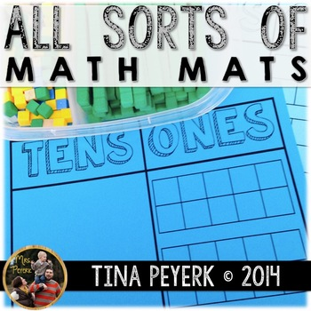 All Sorts of Math Mats for Young Mathematicians