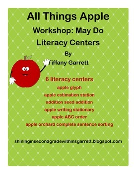 All Things Apple Literacy Centers