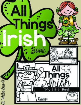 All Things Irish {My Little Book} St. Patrick's Book Kinde