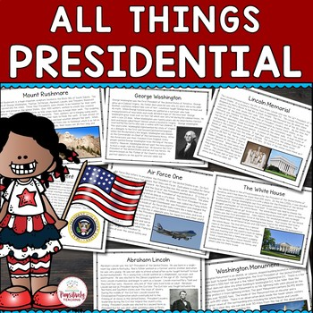 All Things Presidential: 8 Nonfiction Passages for Preside