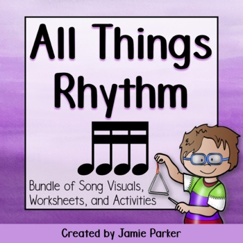 Rhythm Bundle: All Things Sixteenth Notes (Collection of S