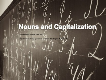 All Types of Nouns PowerPoint