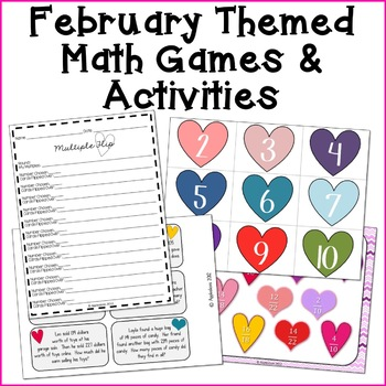 All We Need Is Love {Valentine's Day Themed Math Centers}