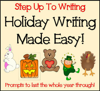 Step Up To Writing Holiday Bundle