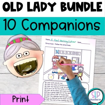 All Year Round with There Was an Old Lady Who Swallowed Bu